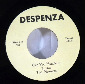 THE MEASURE - Can you handle it / Girls are evil - 7inch (SP)