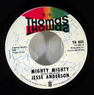 JESSE ANDERSON - Mighty mighty - 7inch (SP)