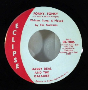 HARRY DEAL AND THE GALAXIES - Fonky fonky - 7inch (SP)