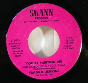 FRANKIE JENKINS - You're hurting me - 7inch (SP)