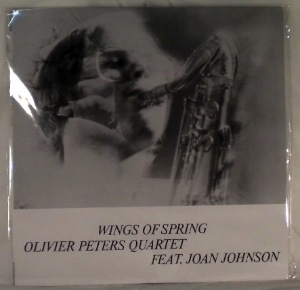 OLIVIER PETERS QUARTET - Wings Of Spring - LP