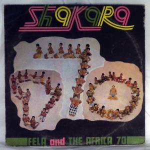 FELA AND AFRICA 70 - Shakara - LP