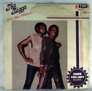 THE BIGGS - All that glitters - LP