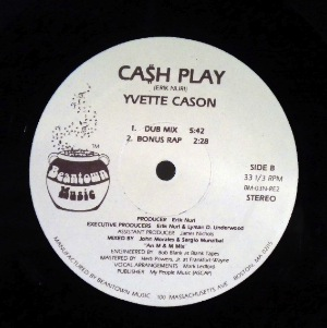 YVETTE CASON - Cash play - 12 inch 45 rpm