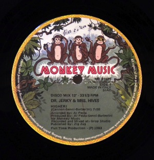 DR. JERKY & MRS HIVES - Higher - 12 inch 45 rpm