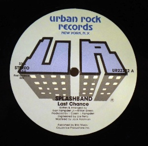 SPLASHBAND - Last chance - 12 inch 45 rpm