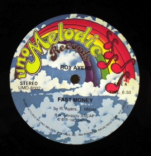 ROY AYERS - Fast money - 12 inch 45 rpm