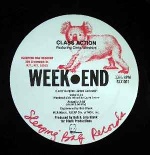 CLASS ACTION - Weekend - 12 inch 45 rpm