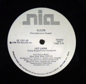 ALEEM - Get loose - 12 inch 45 rpm