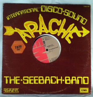 THE SEEBACH BAND - Apache / Bubble sex - 12 inch 45 rpm