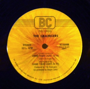 THE GRAINGERS - Shine your light - 12 inch 45 rpm