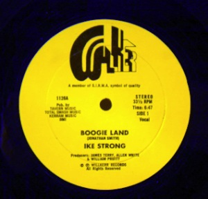 IKE STRONG - Boogie land - 12 inch 45 rpm