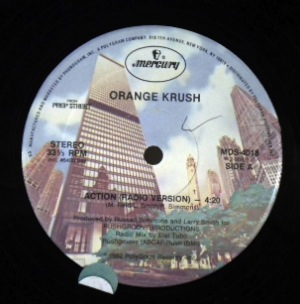 ORANGE KRUSH - Action - 12 inch 45 rpm