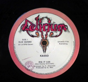 KASSO - Dit it - 12 inch 45 rpm