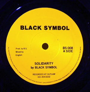 BLACK SYMBOL - Solidarity / Tension - 12 inch 45 rpm