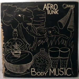 AFRO FUNK - The Body Music - 33T