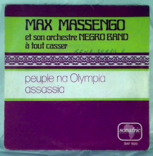 MAX MASSENGO - Assassia - 7inch (SP)