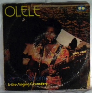 REMI OLABAMIJI AND THE SINGING CRUSADERS - Olele - LP