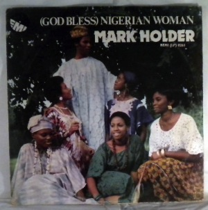 MARK HOLDER - God bless Nigerian woman - LP