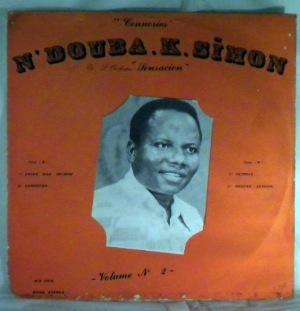 N'DOUBA K. SIMON ET L'ORCHESTRE SENSACION - Vol. 2 - LP