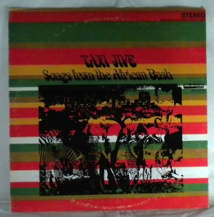 VARIOUS - Taxi Jive songs from the african bush - LP