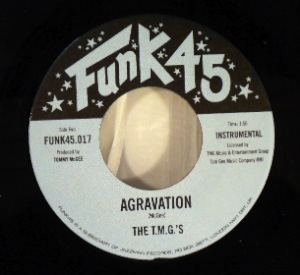 THE T.M.G.'S - The Hatch / Agravation - 7inch (SP)