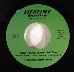 THE SOUL COMMANDERS - Funky Soul Music - 7inch (SP)