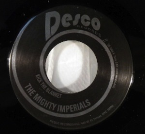 THE MIGHTY IMPERIALS - Kick The Blanket / Toothpick - 7inch (SP)