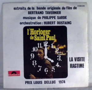PHILIPPE SARDE - L'horloger De Saint-Paul - 7inch (SP)
