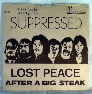 LOST PEACE - Suppressed / After A Big Steak - 45T (SP 2 titres)