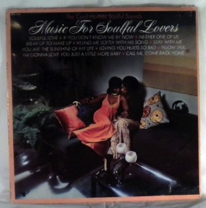 THE CECIL HOLMES SOULFUL SOUNDS - Music for soulful lovers - LP