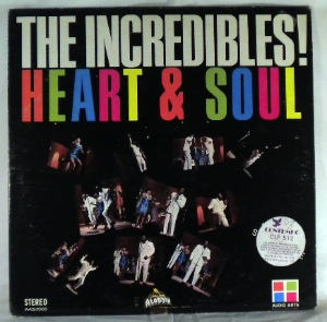 THE INCREDIBLES - Heart and Soul - LP