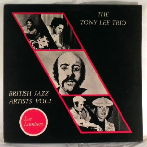 THE TONY LEE TRIO - British Jazz Artists Vol. 1 - LP
