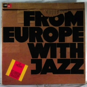 VARIOUS - From Europe With Jazz - LP