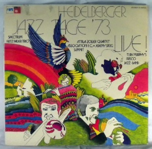 VARIOUS - Heidelberger Jazzstage '73 Live - LP