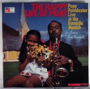 PONY POINDEXTER - The Happy Life Of Pony - LP