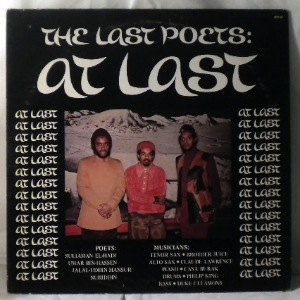 THE LAST POETS - At Last - LP