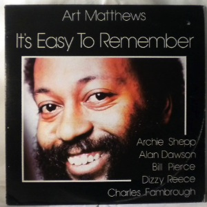 ART MATTHEWS - It's Easy To Remember - LP
