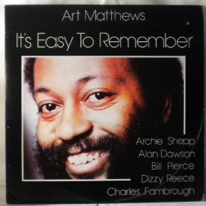 ART MATTHEWS - It's Easy To Remember - LP