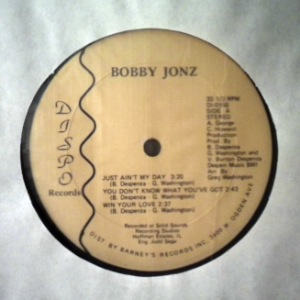 JIMMY BURNS / BOBBY JONZ - Same - LP