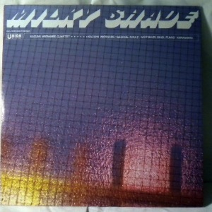 KAZUMI WATANABE QUARTET - Mily shade - LP