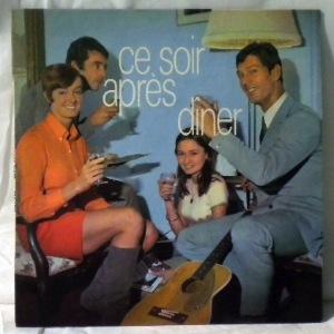 DAVID WHITAKER - Ce soir apres diner - 45T (SP 2 titres)