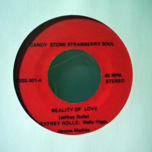 JEFFREY ROLLE - Reality of love - 7inch (SP)