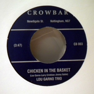 LOU GARNO TRIO - Chicken in the basket - 45T (SP 2 titres)