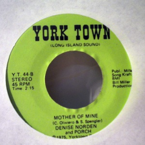 DENISE NORDEN - Mother of mine - 7inch (SP)