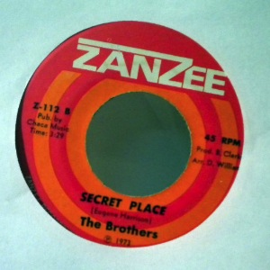 THE BROTHERS - Secret place - 7inch (SP)