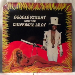 BOOBIE KNIGHT AND THE UNIVERSAL LADY - Earth Creature - LP