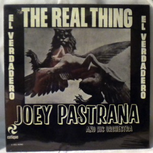 JOEY PASTRANA AND HIS ORCHESTRA - The real thing - LP