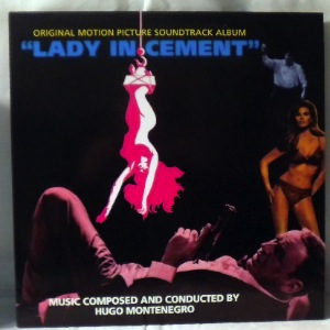 HUGO MONTENEGRO - Lady In Cement - 33T