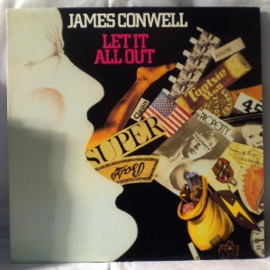 JAMES CONWELL - Let It All Out - LP